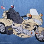 Honda GL1800 Goldwing Trike Embroidery