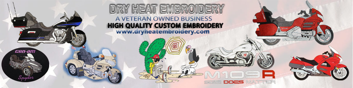 Dry Heat Embroidery / Decals